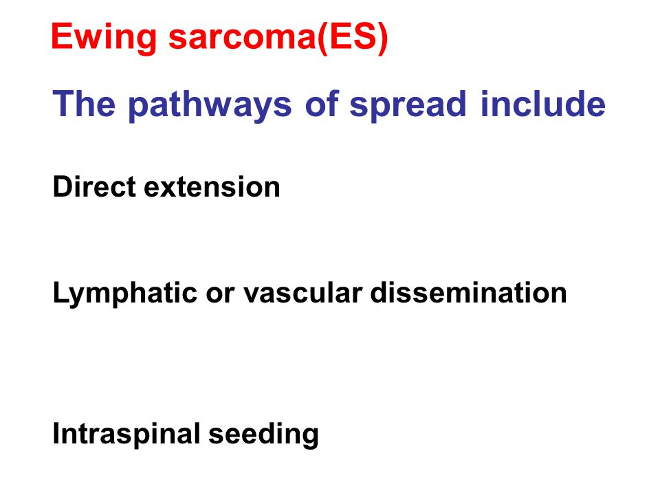 The pathways of spread include