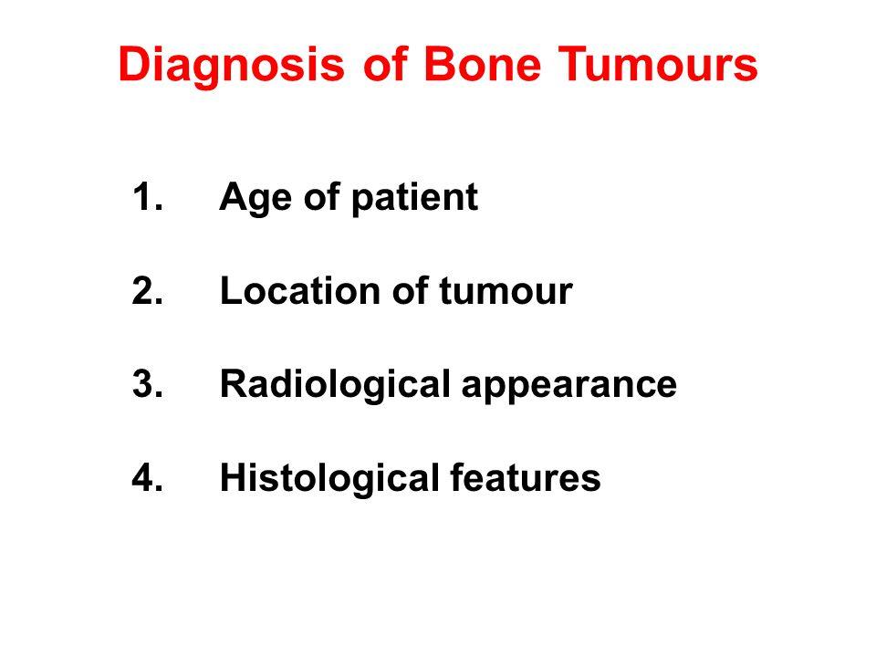 Diagnosis of Bone Tumours