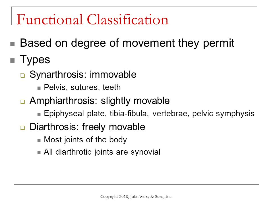 Functional Classification