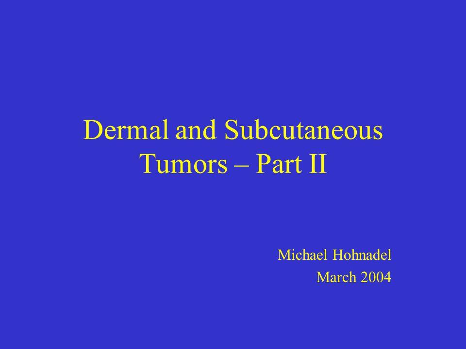 Dermal and Subcutaneous Tumors – Part II