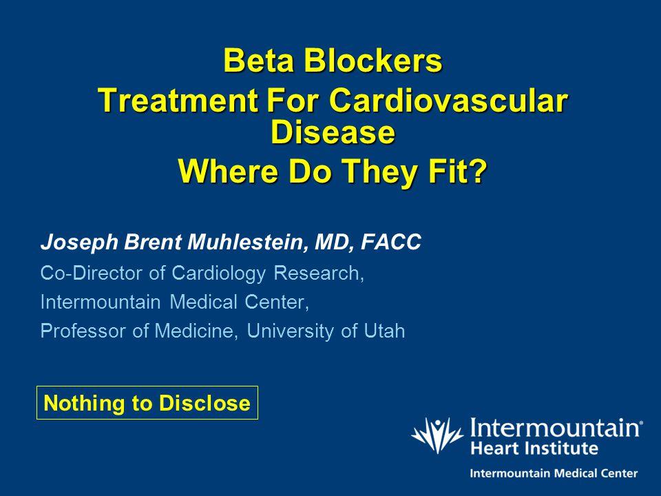 Treatment For Cardiovascular Disease