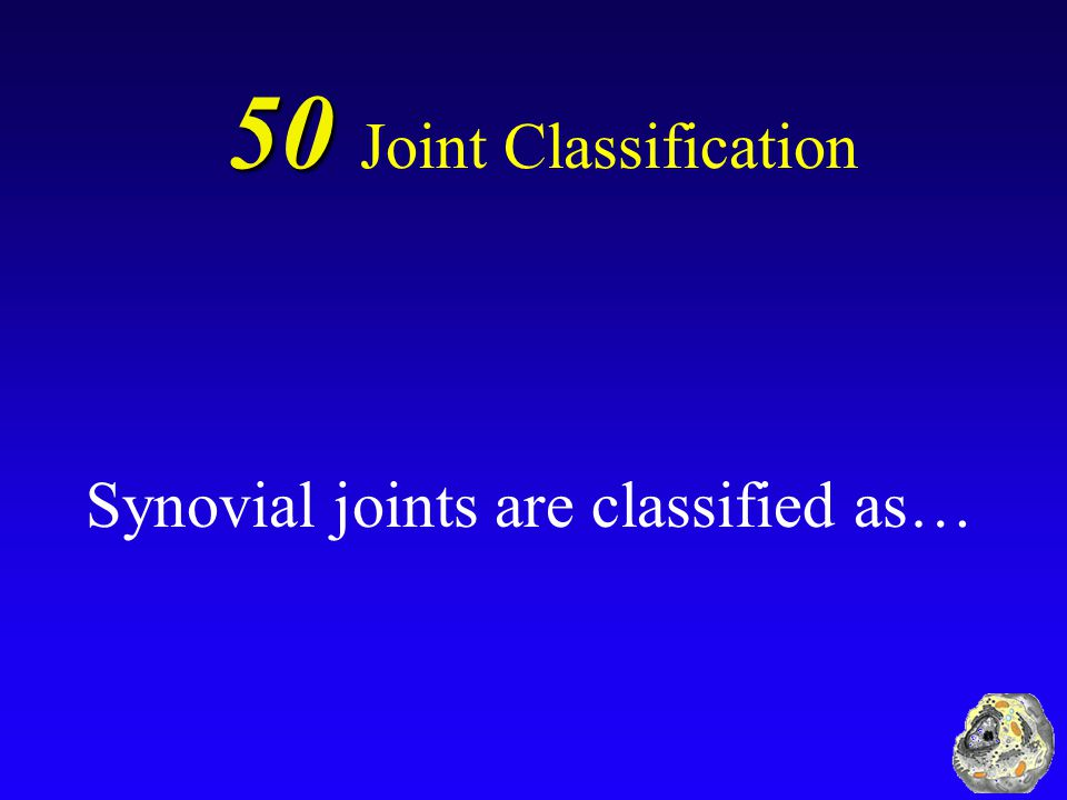 Synovial joints are classified as…