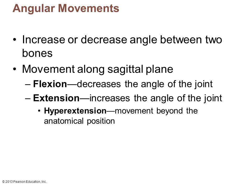 Increase or decrease angle between two bones