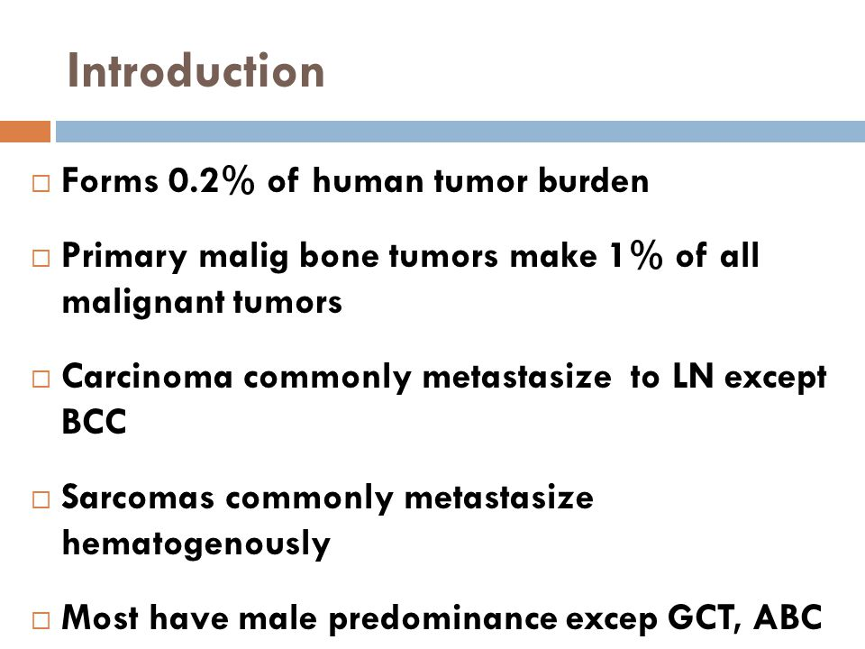 Introduction Forms 0.2% of human tumor burden