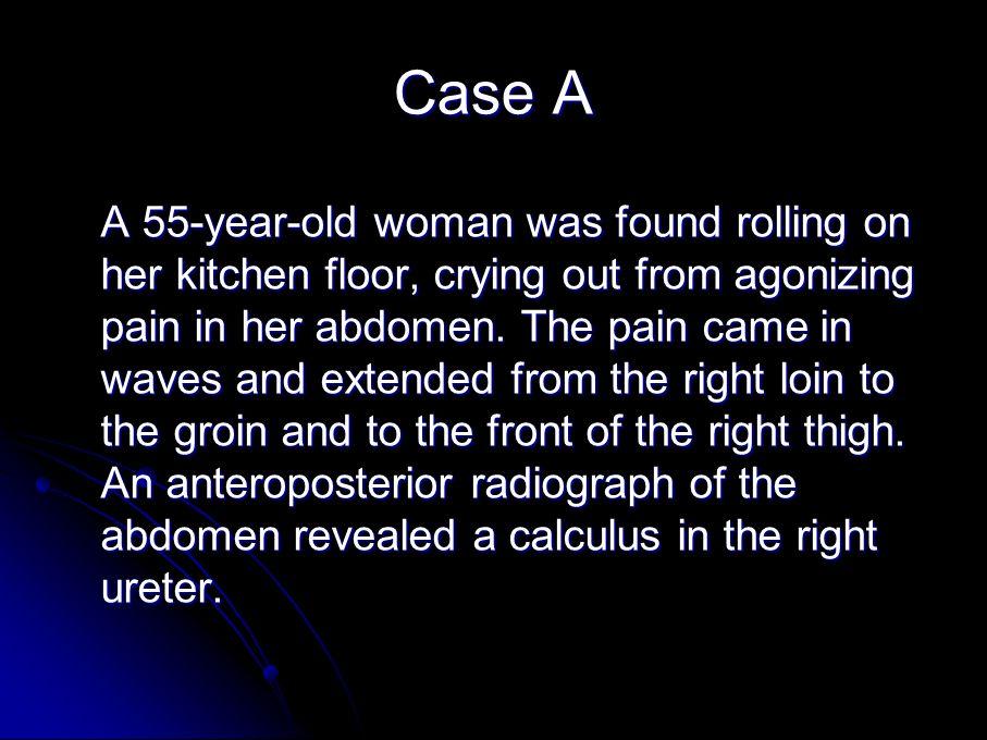 Case A