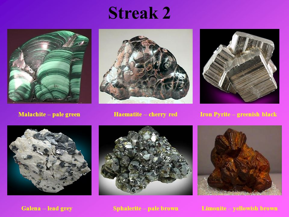 how to find streak of a mineral