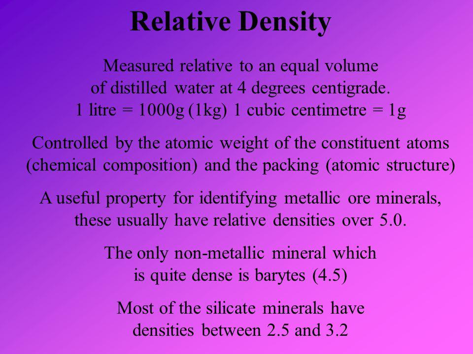Relative Density