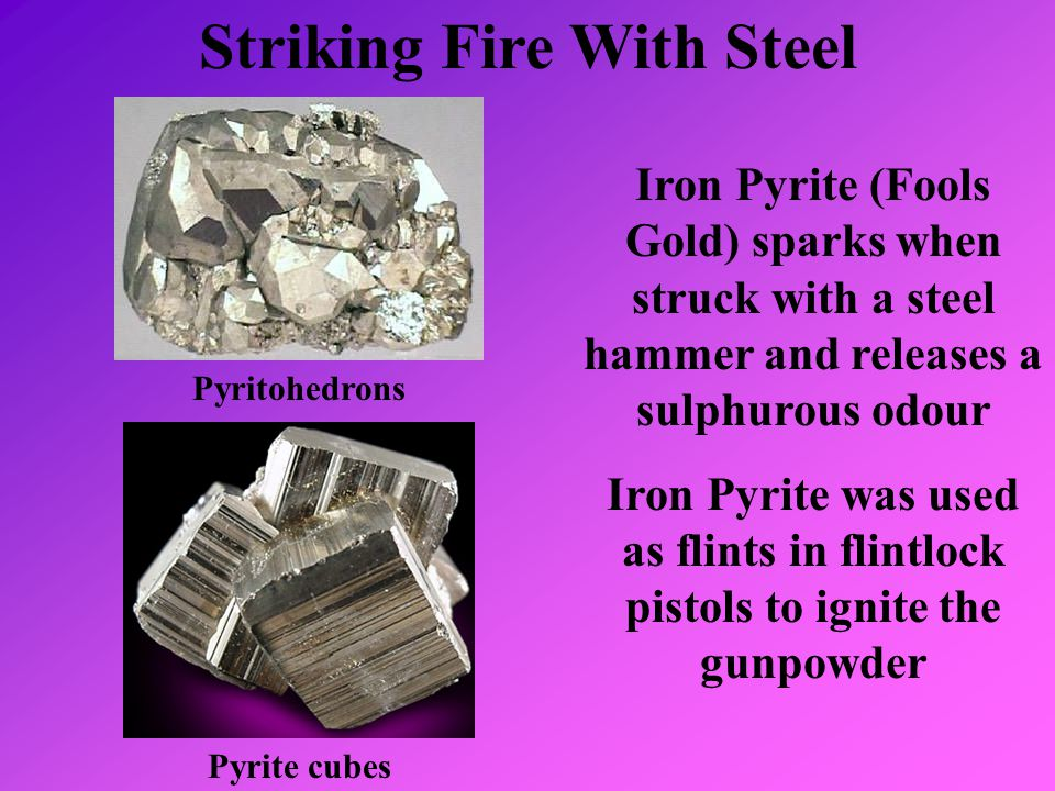 Striking Fire With Steel
