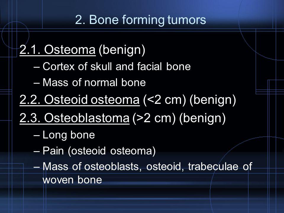 2.2. Osteoid osteoma (<2 cm) (benign)
