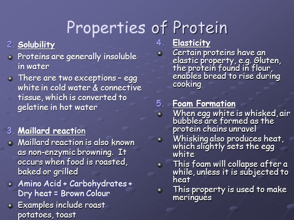 Properties of Protein Solubility