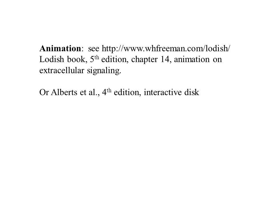 Animation: see http://www.whfreeman.com/lodish/