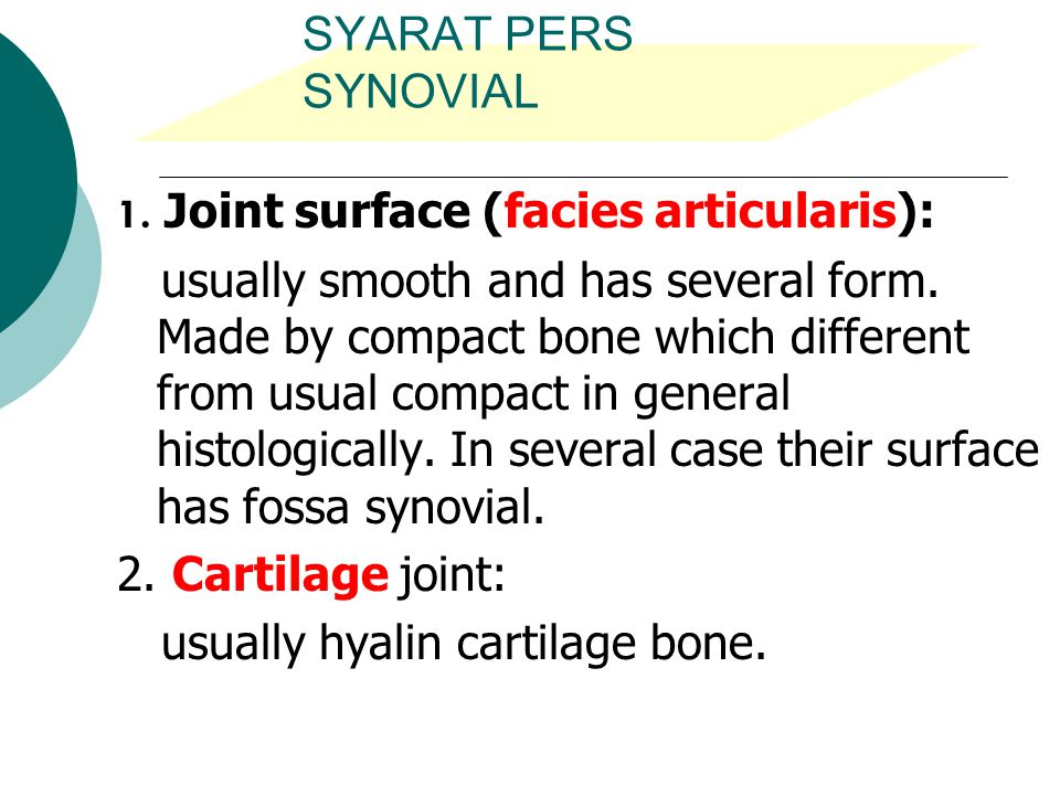 usually hyalin cartilage bone.