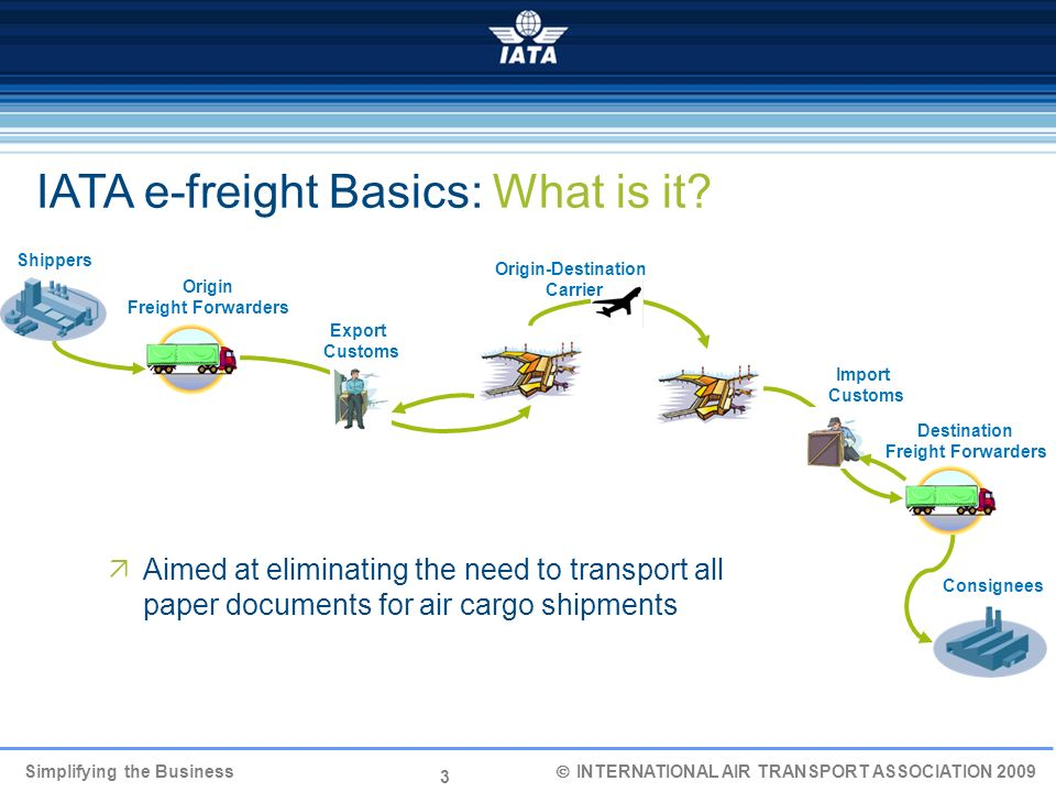 IATA e-freight Basics: What is it