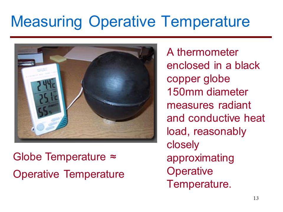 Measuring Operative Temperature