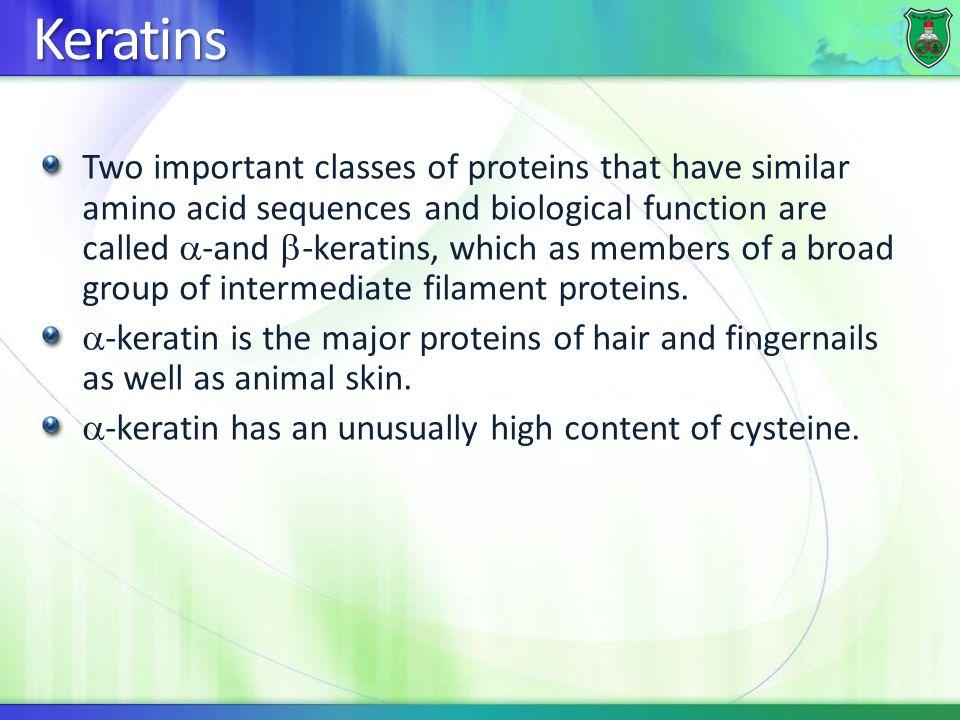 Keratins