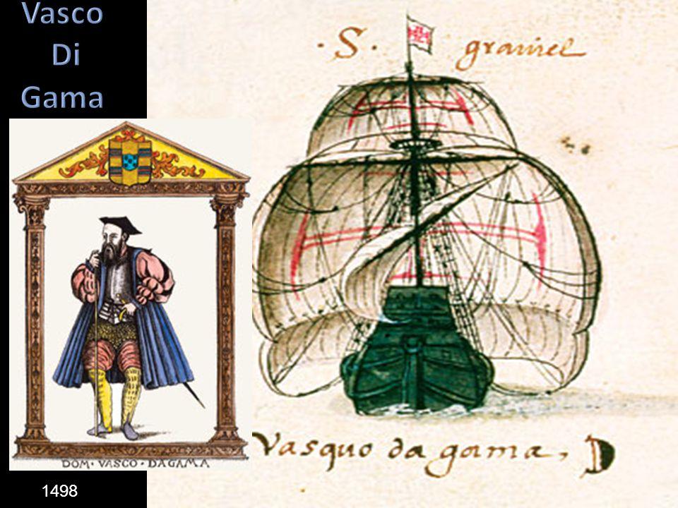 Vasco Di Gama 1498