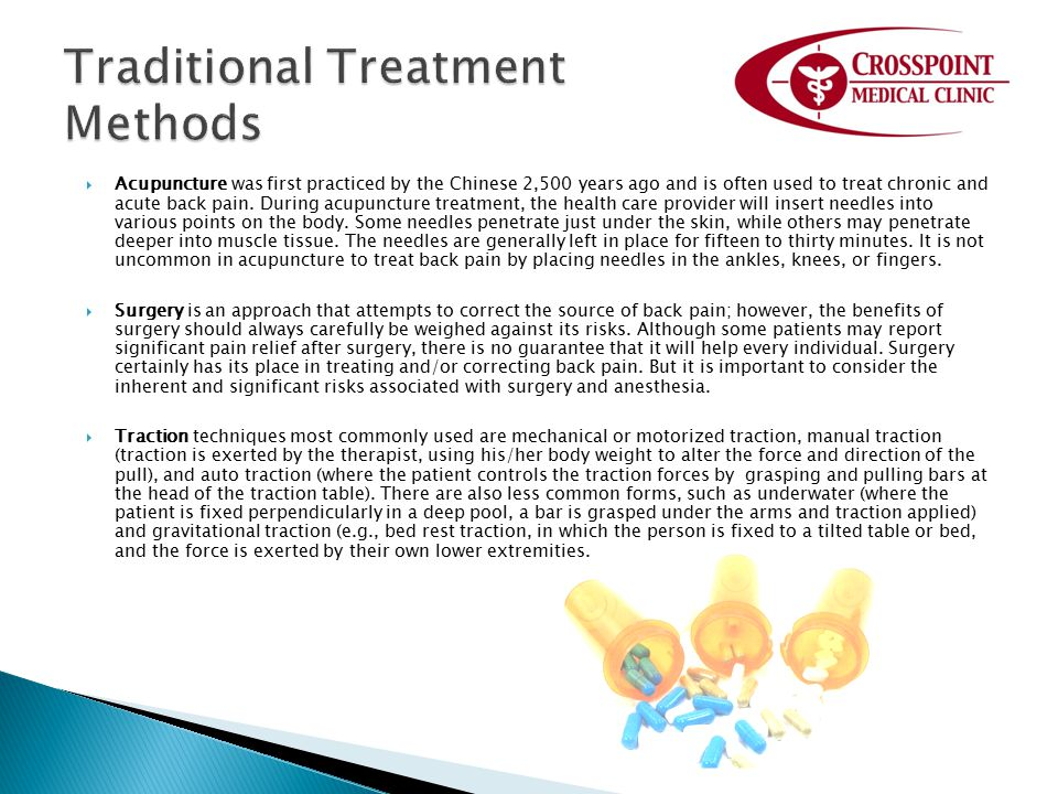 Traditional Treatment Methods
