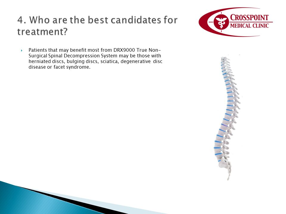 4. Who are the best candidates for treatment