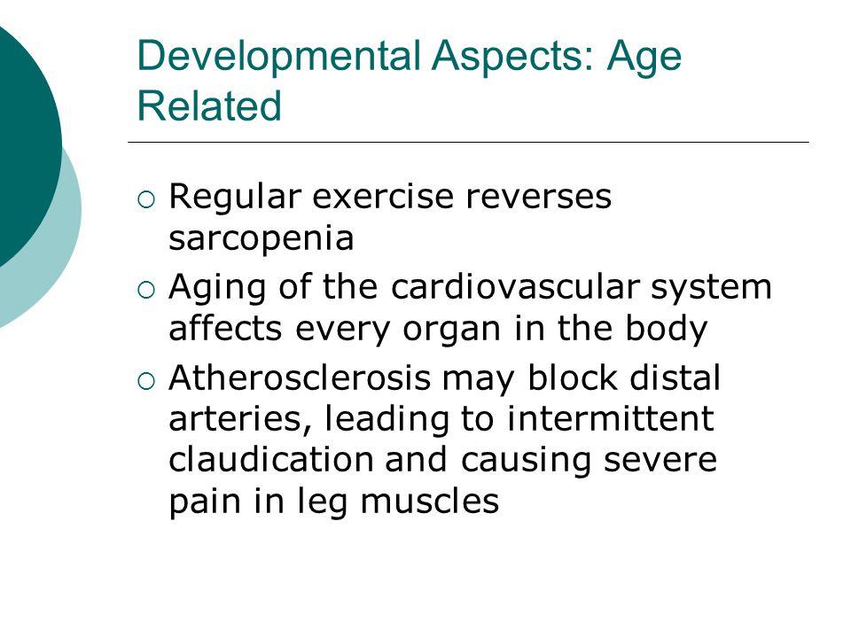 Developmental Aspects: Age Related