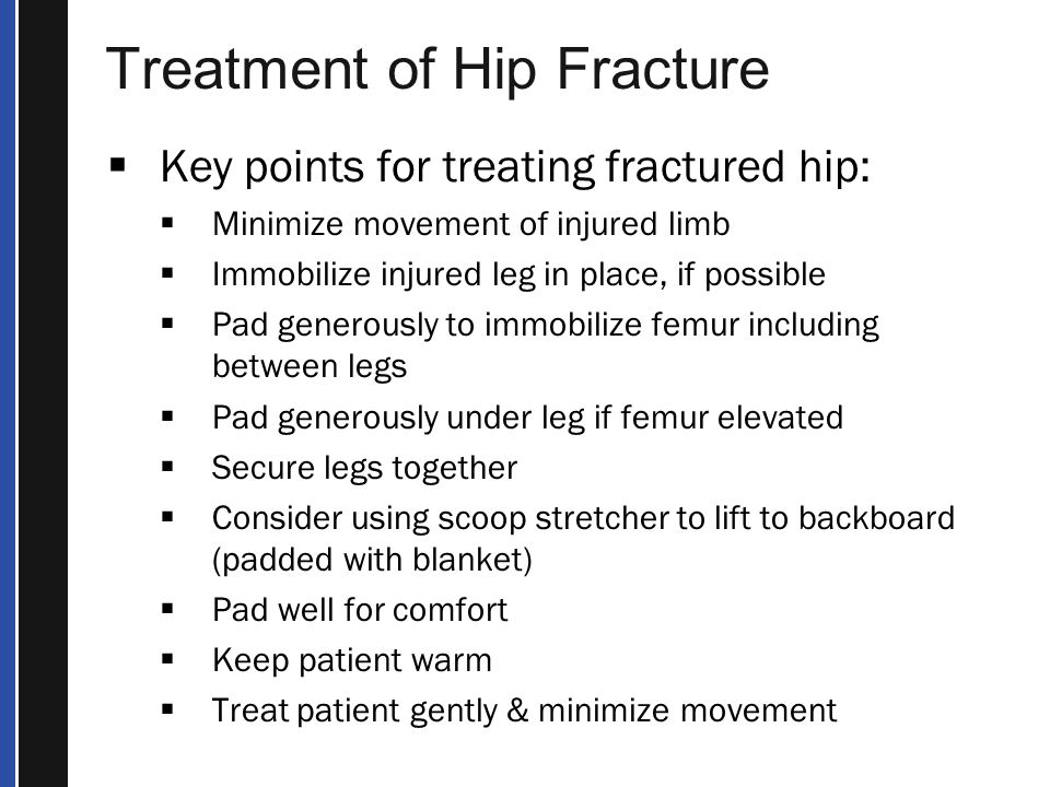 Treatment of Hip Fracture