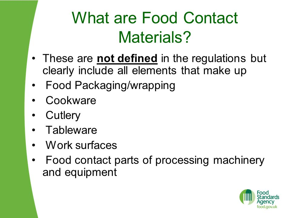 What are Food Contact Materials