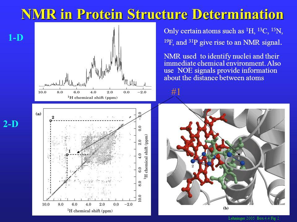 NMR in Protein Structure Determination