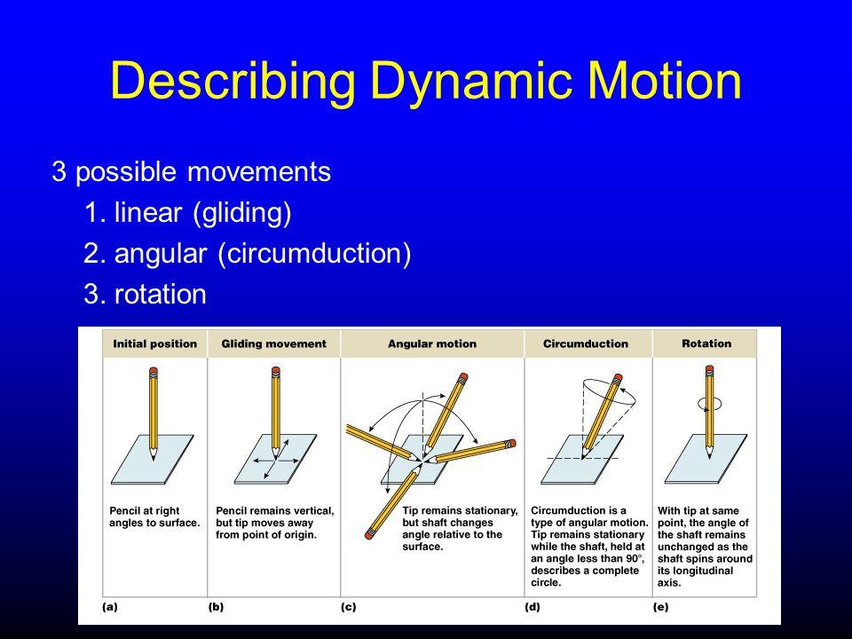 Describing Dynamic Motion