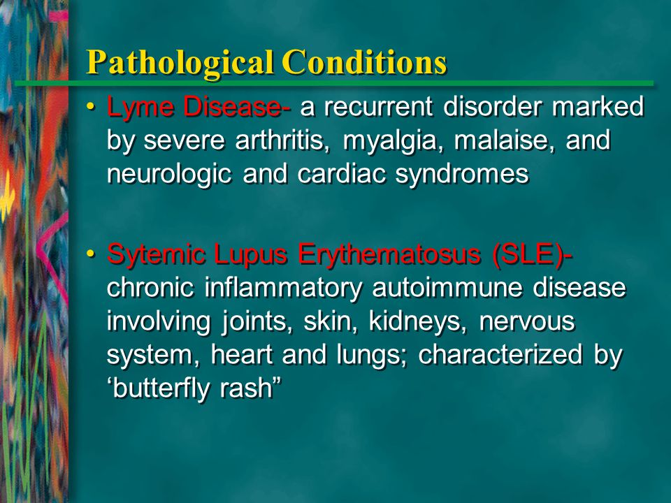 Pathological Conditions
