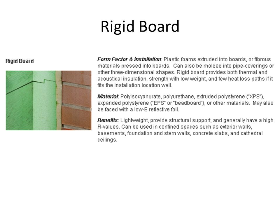 Rigid Board