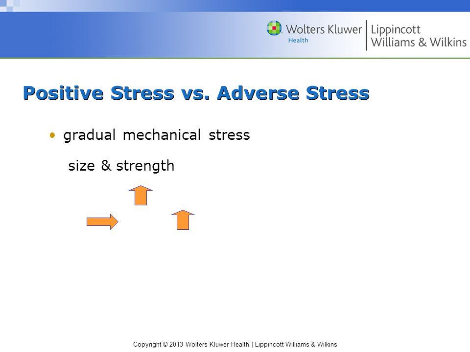 Positive Stress vs. Adverse Stress