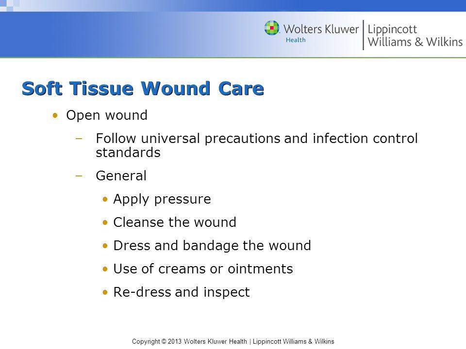 Soft Tissue Wound Care Open wound