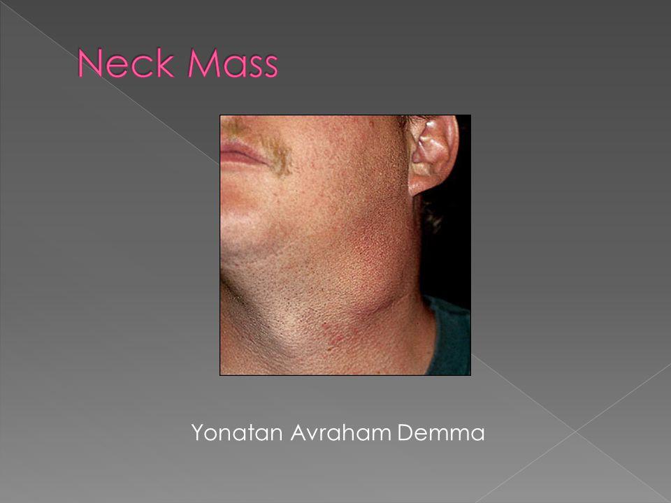Neck Mass Yonatan Avraham Demma