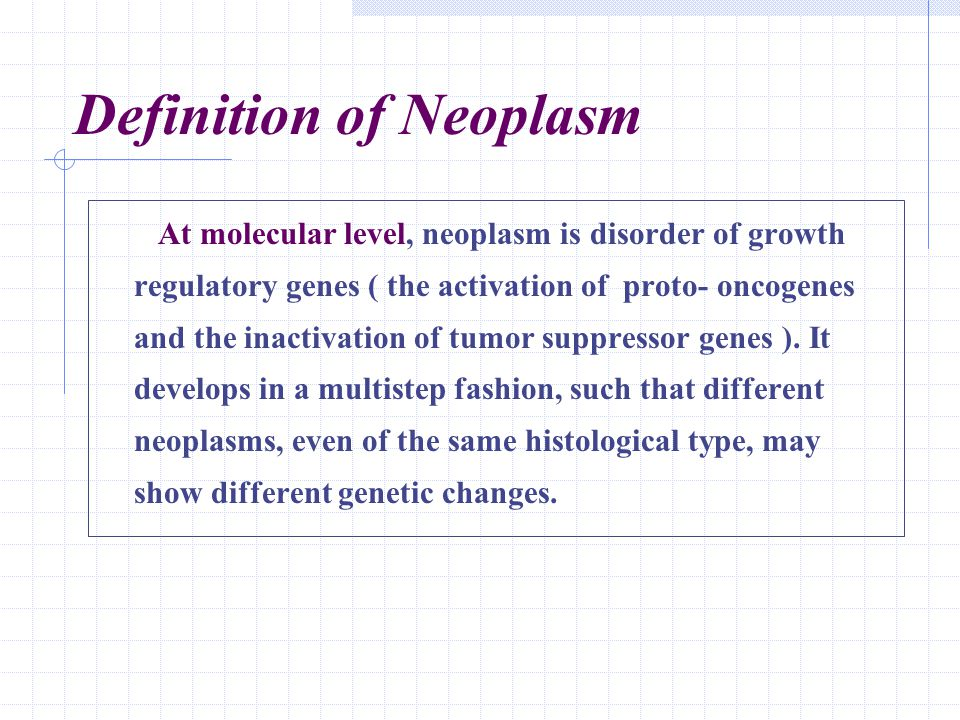 Definition of Neoplasm