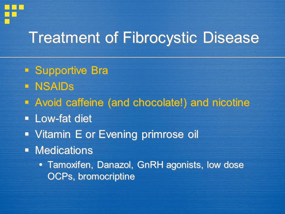 Treatment of Fibrocystic Disease