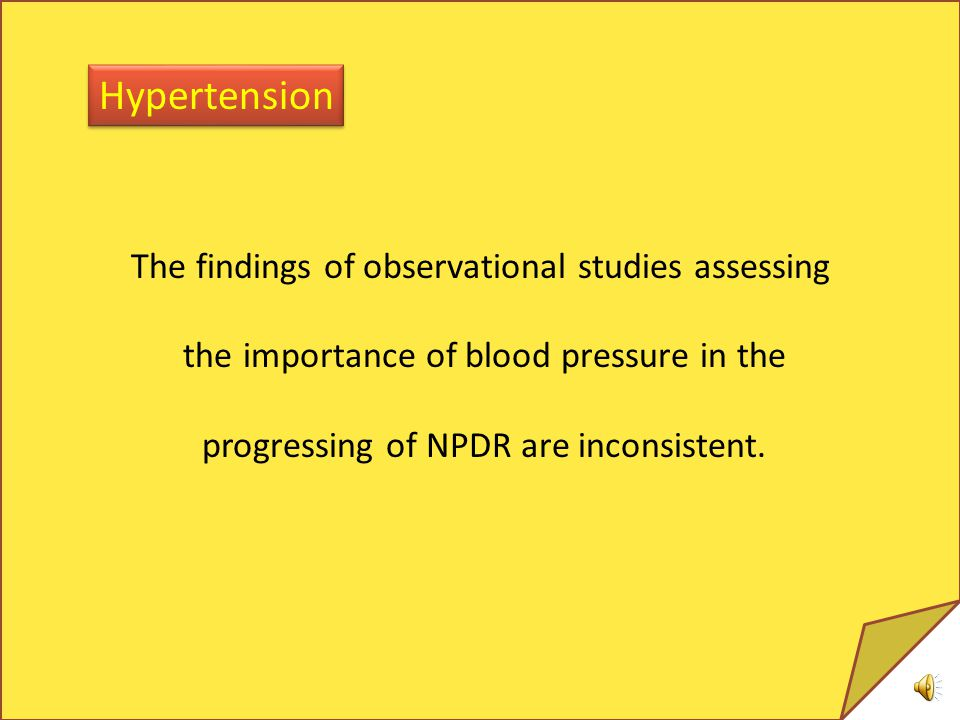 Hypertension The findings of observational studies assessing