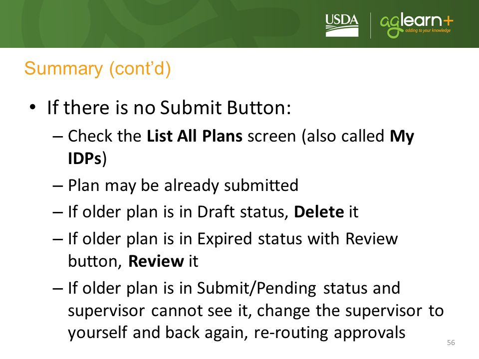 If there is no Submit Button: