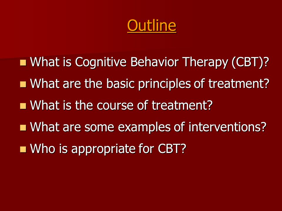 the use and effectiveness of cognitive behavioral therapy cbt in treating shame The effectiveness among inpatients with depression of a modified cognitive behavior therapy (cbt) program was examined a group of 300 inpatient admissions with a primary diagnosis of depression attending a private psychiatric clinic were assessed at the beginning and end of a two-week cbt program.