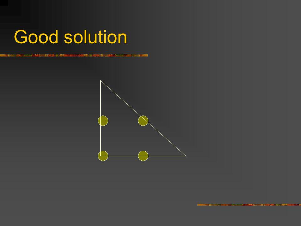 Good solution