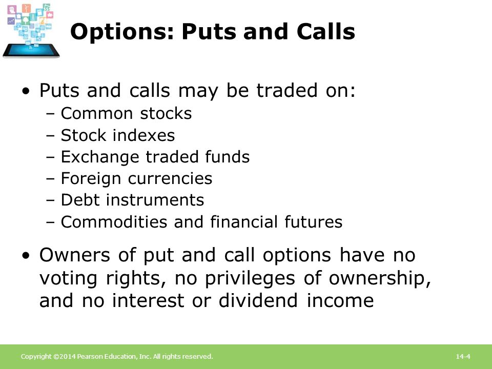 Options: Puts and Calls
