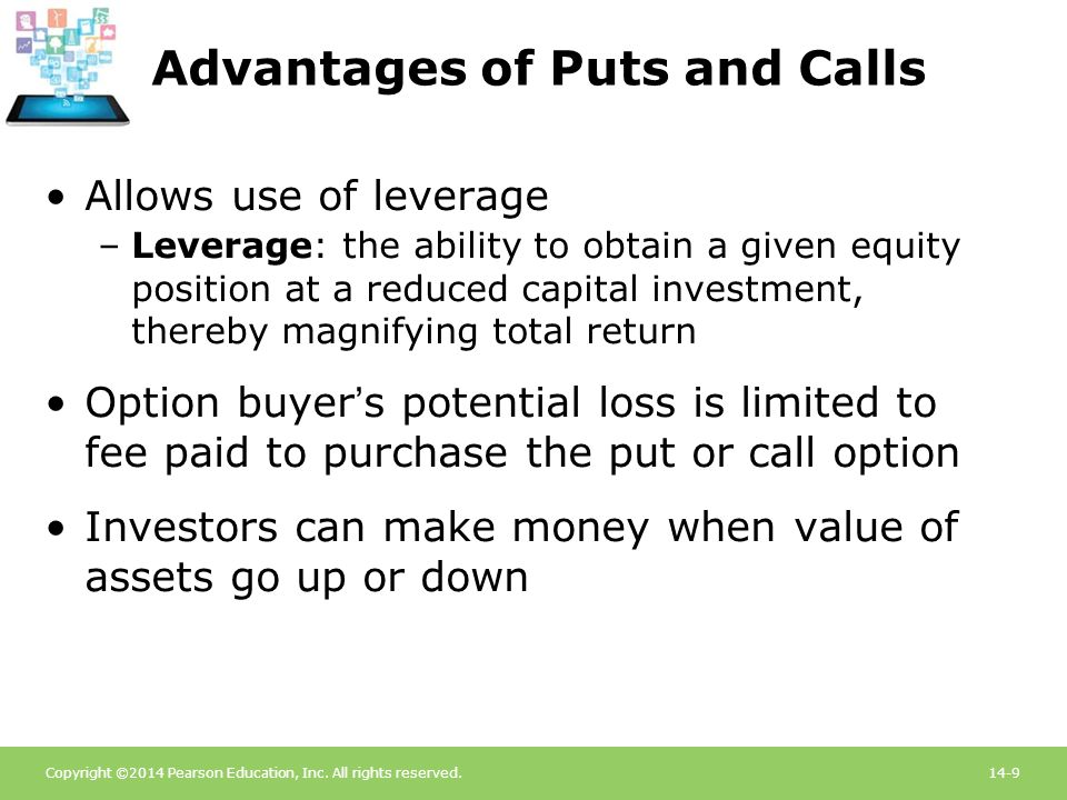 Advantages of Puts and Calls