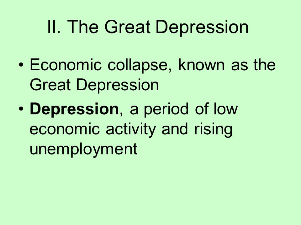 a brief history and the cause of the great depression a worldwide economic collapse