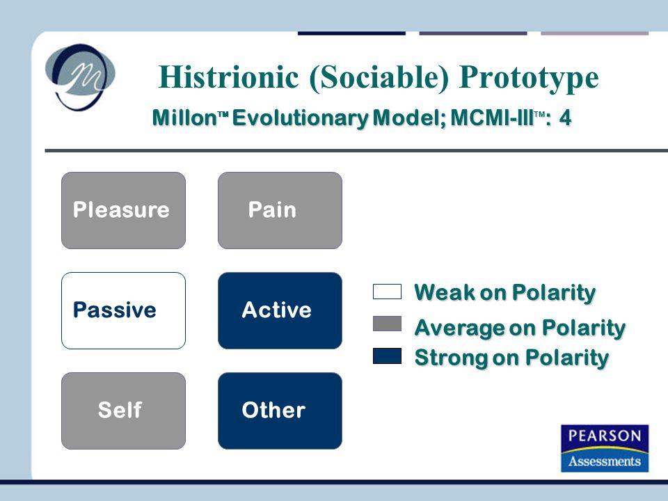 Histrionic (Sociable) Prototype