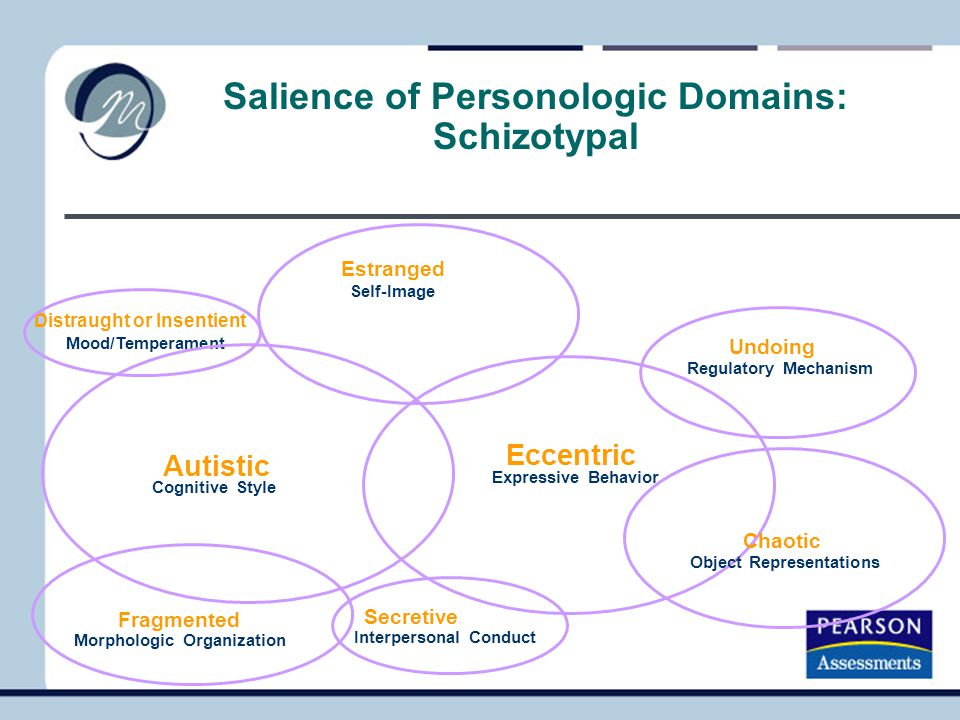 Salience of Personologic Domains: Schizotypal