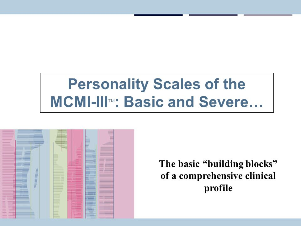 The basic building blocks of a comprehensive clinical profile