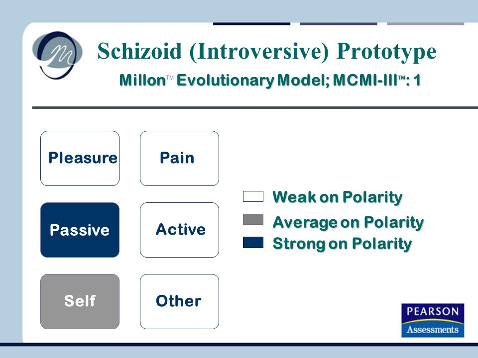 Schizoid (Introversive) Prototype