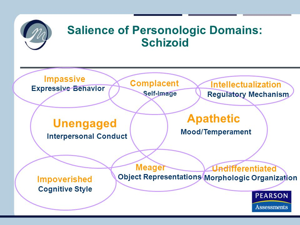 Salience of Personologic Domains: Schizoid