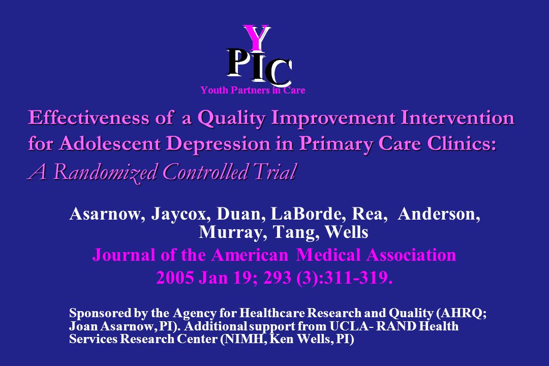 A Randomized Controlled Trial
