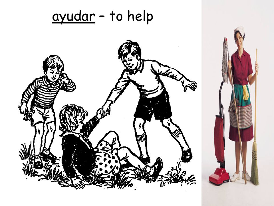 ayudar – to help