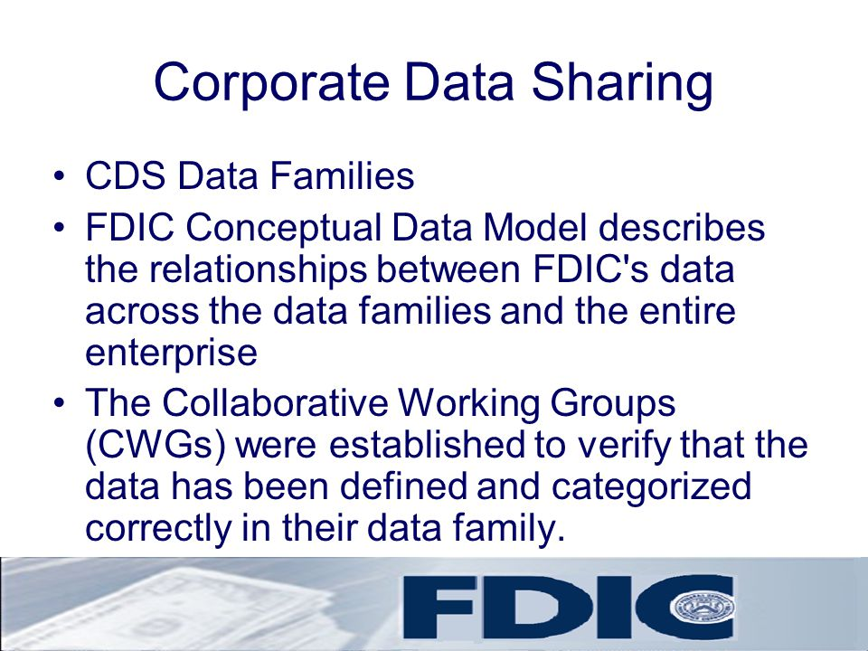 Corporate Data Sharing