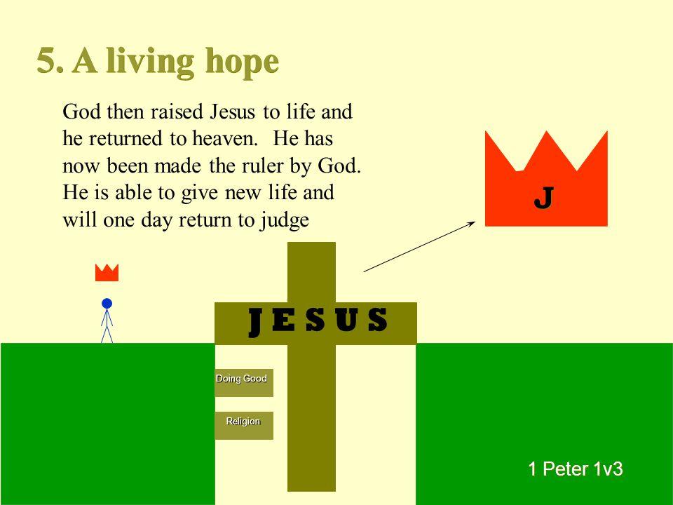 5. A living hope